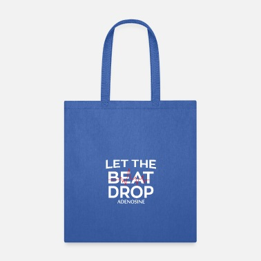 Midwife Let The Beat Drop Adenosine t-shirt - Tote Bag