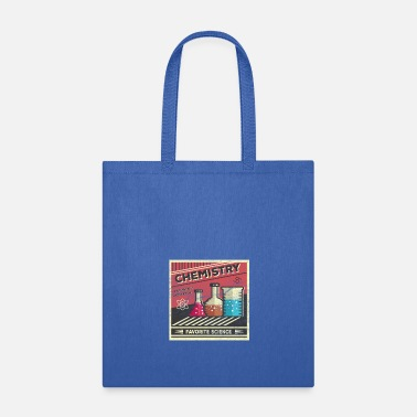 Test Tube chemistry science student laboratory teacher gift - Tote Bag