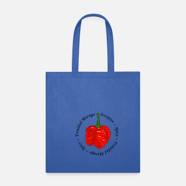 Chili Pepper Trinidat Moruga Scorpion Chili Pepper - Tote Bag