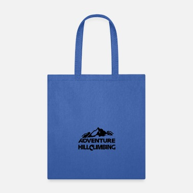 Mountain Climbing Adventure Hillclimbing Mountain / Mountain white - Tote Bag