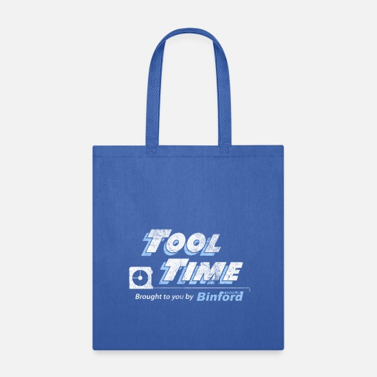 Tool Bags & Backpacks - Tool Time - Binford Tools - Tote Bag royal blue