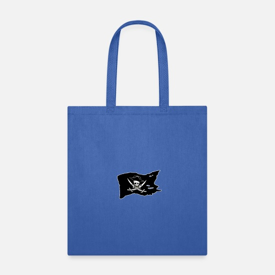Jolly Roger Bags & Backpacks - Jolly Roger - Tote Bag royal blue