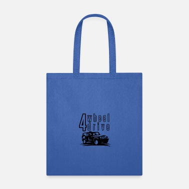 4 Wheel Drive 4 Wheel Drive 03 - Tote Bag