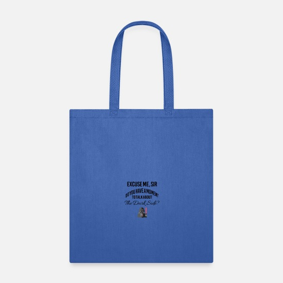 Dark Side Bags & Backpacks - Vader witnesses - Tote Bag royal blue