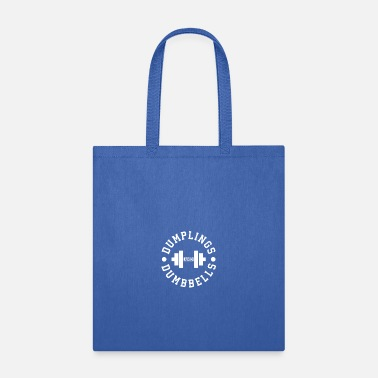 Dumpling Dumplings and Dumbbells - Tote Bag
