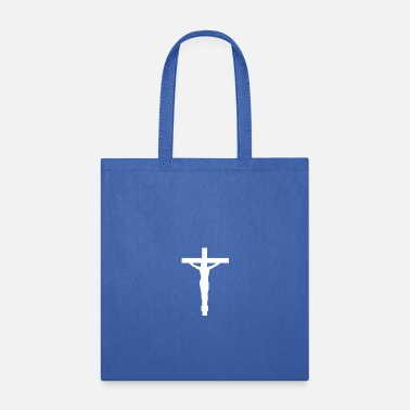 Crossed Christian Cross Christ On The Cross - Tote Bag