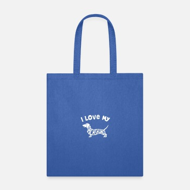 My Dachshund LOVE MY DACHSHUND - Tote Bag
