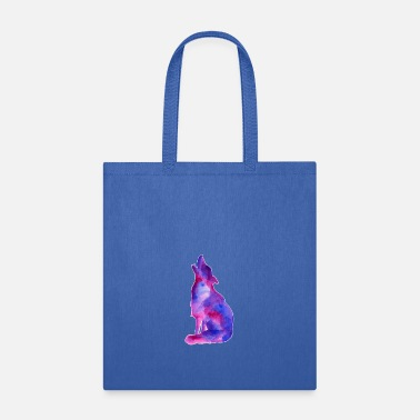 Galaxy Galaxy Wolf - Tote Bag