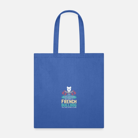 French Bulldog Bags & backpacks - French Bulldog - Tote Bag royal blue