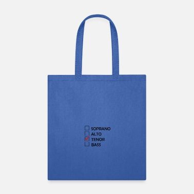 Tenor Tenor List - Tote Bag