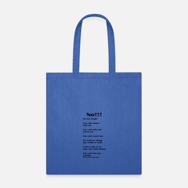 Netflix No!!! - Tote Bag