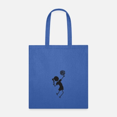 Volley Volley ball girl - Tote Bag