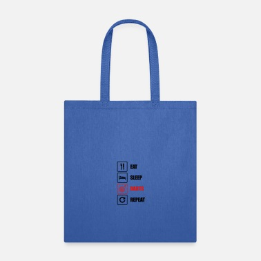 Pitch Eat. Sleep. Darts. Repeat - Tote Bag