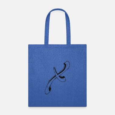 Initial X Graffiti letters initial alphabet gift - Tote Bag