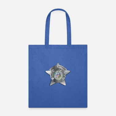Chicago Police Badge - Tote Bag