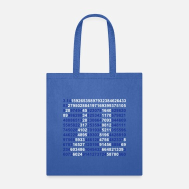 Number pi - Tote Bag