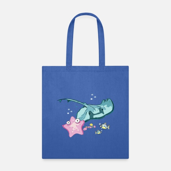 Trend Bags & Backpacks - Fish - Tote Bag royal blue