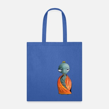 Wise Yoga Turtle - Tote Bag