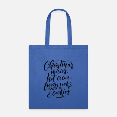 Movies Christmas Movies Hot Cocoa and Cookies - Tote Bag