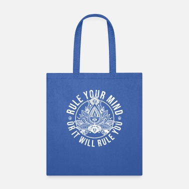 Lotus Yoga Quote For Women Men Buddhist Mind Zen - Tote Bag