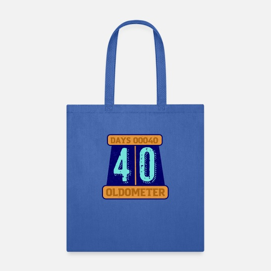 Party Bags & Backpacks - Oldometer, age indicator - Tote Bag royal blue