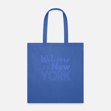 Ny Welcome to New York Vintage - Tote Bag