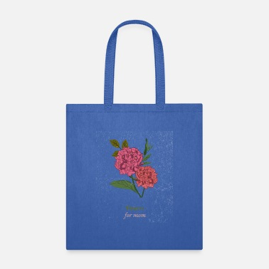 Rose artistic mother's day bouquet lilac woman gift - Tote Bag