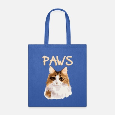 Sow Cat Pop Art Animal Portrait - Tote Bag