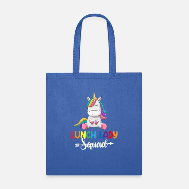 Ladies Teacher Lunch Lady Squad Unicorn lunch lady - Tote Bag