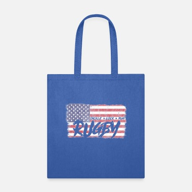 Rugby Rugby USA Flag For An American Rugby Team Fan - Tote Bag