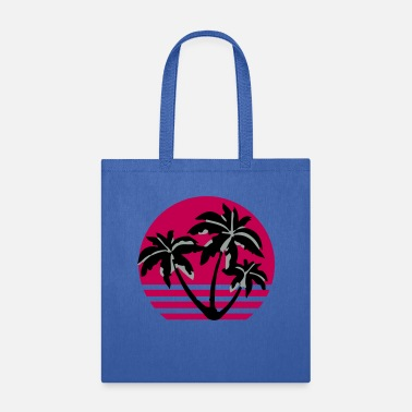 Sunset Palm - Tote Bag