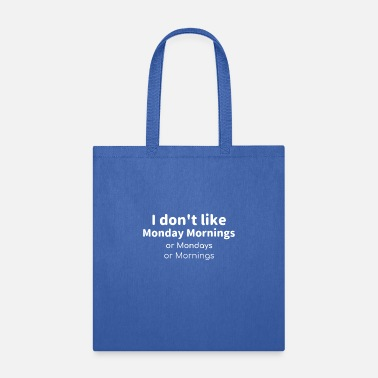 Monday Blues Tee - Tote Bag