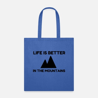 Saalbach Better In Mountains - Tote Bag