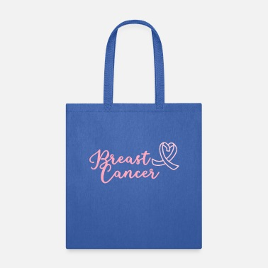 Prevention Breast cancer treatment therapy slogan saying shir - Tote Bag