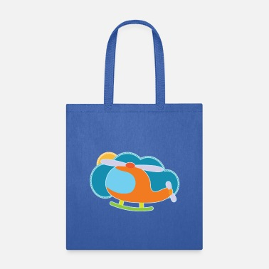 Cute Helicopter Helicopter Cute Future Pilot - Tote Bag