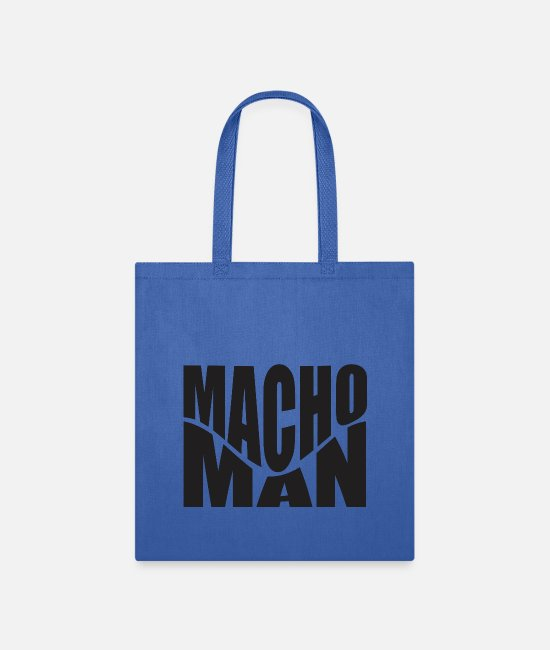 Hipster Bags & Backpacks - Macho Man - Tote Bag royal blue