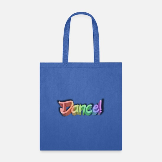 Daughter Bags & Backpacks - Dancing dancer writing gift - Tote Bag royal blue