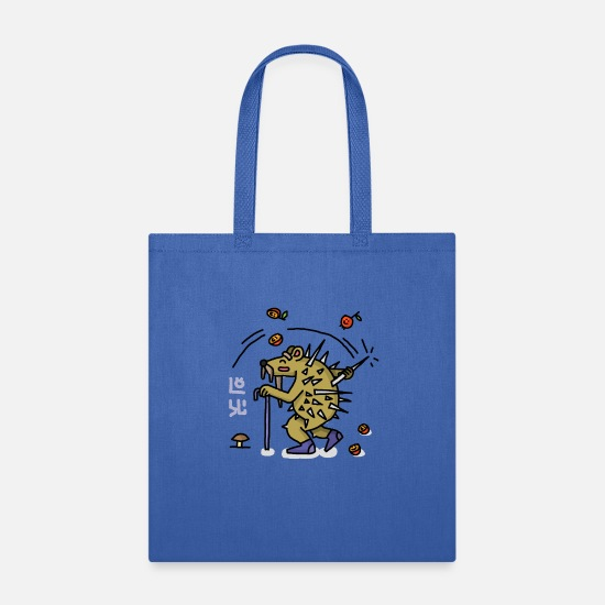 Characters Bags & Backpacks - youzh! - Tote Bag royal blue