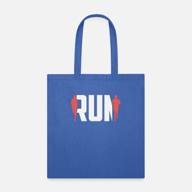 running t shirts Run - Tote Bag