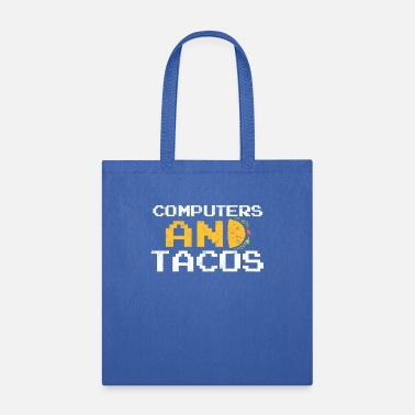 Little Caesars COMPUTERS AND TACOS - Tote Bag