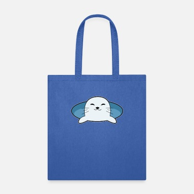 Harbor Seal Cute Seal - Tote Bag