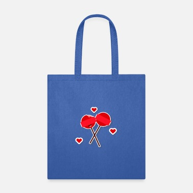 Lollipop Love valentines day - Tote Bag