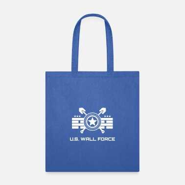 Border Security Force United States WALL FORCE (white) - Tote Bag