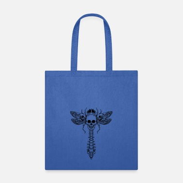 dragonfly skull - Tote Bag