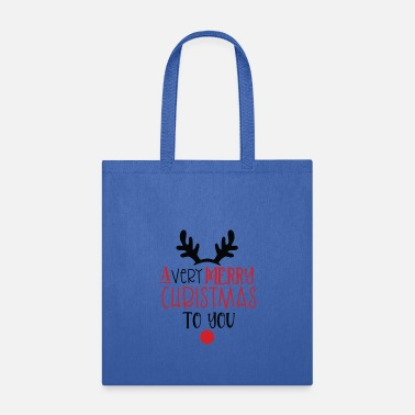 Ornament New Christmas Design A Very Merry Christmas To You - Tote Bag