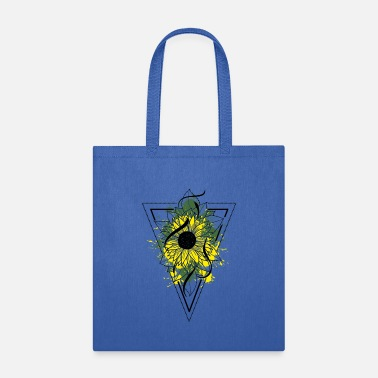 Colorcontest Sunflower art plant nature gift - Tote Bag