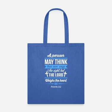 The Lord Weighs The Heart - Tote Bag