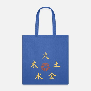 Water five elements - Tote Bag