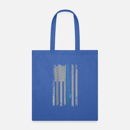 River Bags & Backpacks - 001 - Tote Bag royal blue