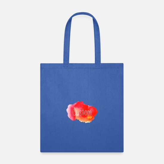 Quality Bags & Backpacks - Custom - Tote Bag royal blue